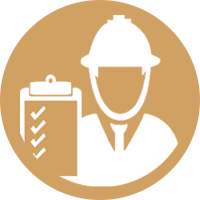 Quality inspector icon